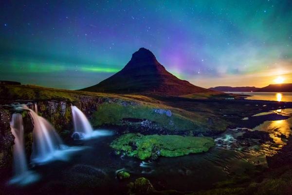 iceland-landscaope-northern-lights