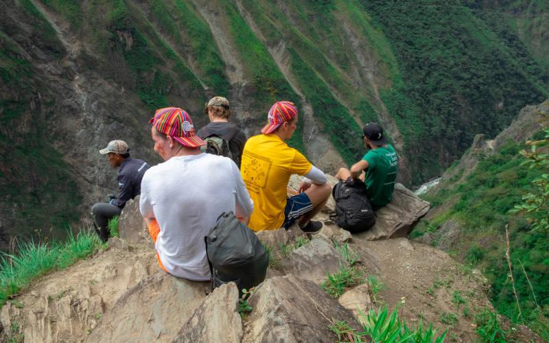 inca jungle hiking