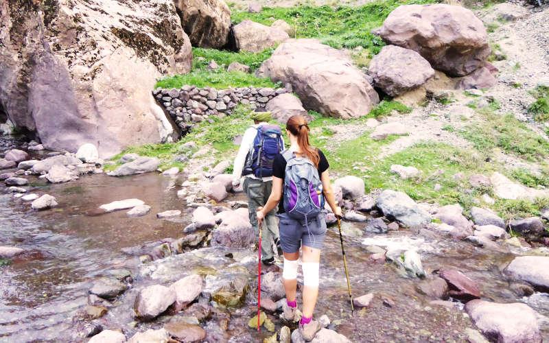 morocco toubkal trek