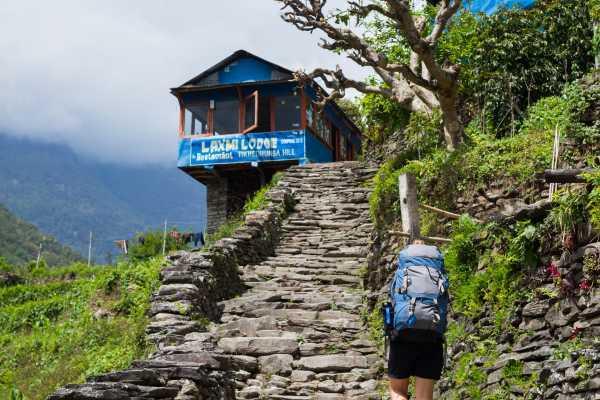 poon-hill-trek-Tikhedhunga