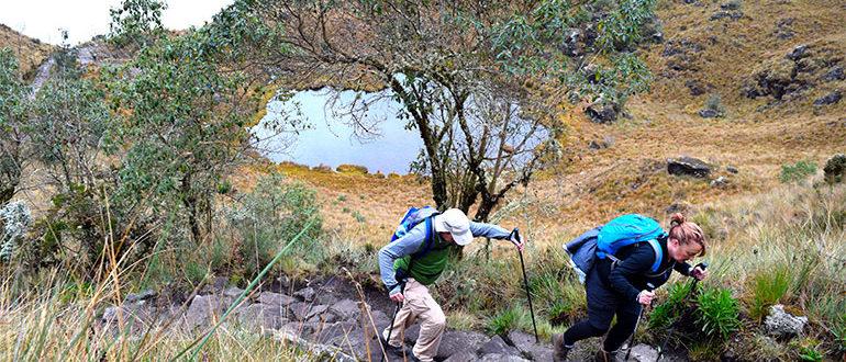 inca trail hike dead womens
